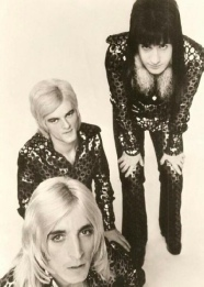 Trevor Bolder, Woody Woodmansey and Mick Ronson